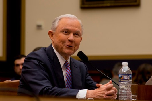 Attorney General Jeff Sessions testifies during House hearing49