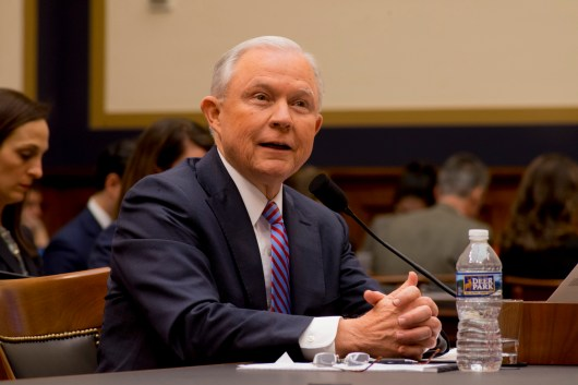 Attorney General Jeff Sessions testifies during House hearing52