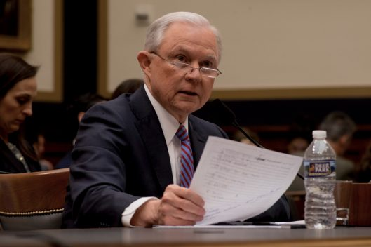 Attorney General Jeff Sessions testifies during House hearing53