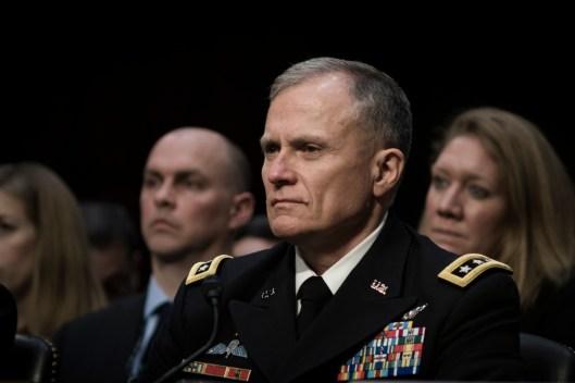 DIA Director LTG Robert Ashley, Jr. at the Worldwide Threats Assessment Senate briefing Feb 13, 2018