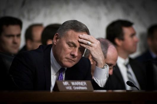 Sen Richard Burr at the Worldwide Threats Assessment Senate briefing Feb 13, 2018