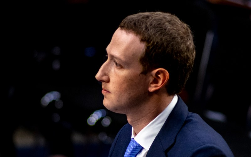 Facebook CEO Mark Zuckerberg testifies to the Senate