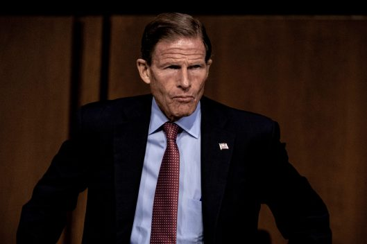 Senator RICHARD BLUMENTHAL (D-CT) during Judge BRETT KAVANAUGH's confirmation hearing, September 5, 2018