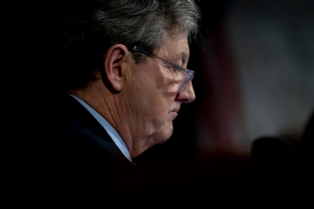 Senator JOHN KENNEDY (R-LA) at WILLIAM BARR's confirmation hearing to become Attorney General of the United States, January 15, 2019