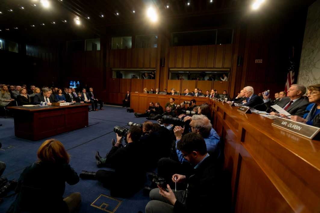 Senate Judiciary Committee confirmation hearing of WILLIAM BARR to become Attorney General of the United States, January 15, 2019