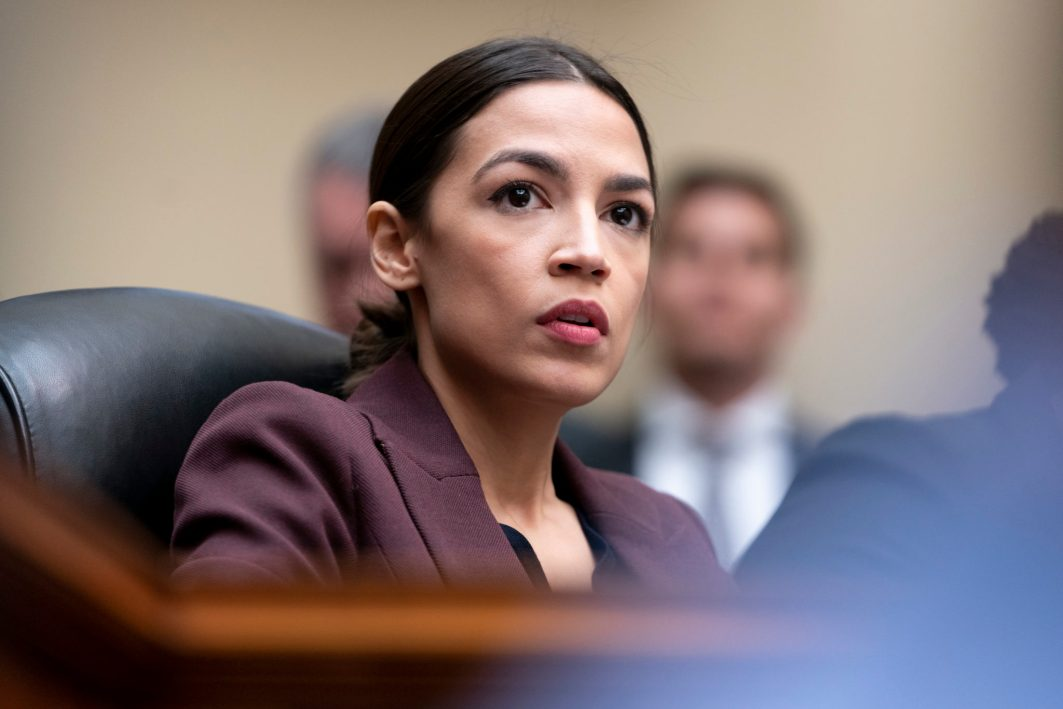 Representative ALEXANDRIA OCASIO-CORTEZ (D-NY) at the hearing of President DONALD TRUMP's former personal attorney, MICHAEL COHEN, before the House Oversight Committee, February 27, 2019