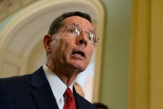 Senator JOHN BARRASSO (R-WY) at the Senate Republican Leadership News Conference, Tuesday February 5, 2019