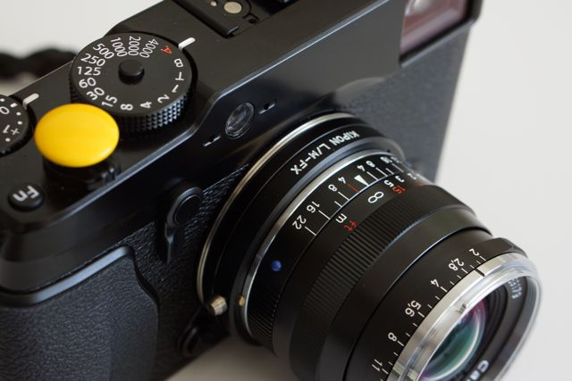 Fuji Xpro1 Leica M Mount To Fuji X Mount Adapter (lm