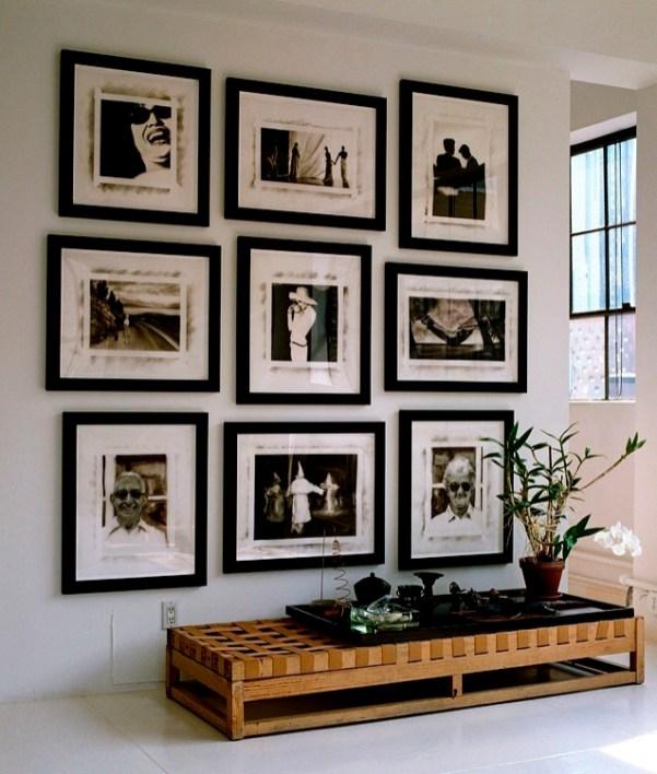 Фотография на стенах в интерерах