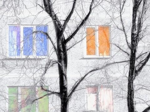 Оформление стены фотографиями и идеи для интерьера