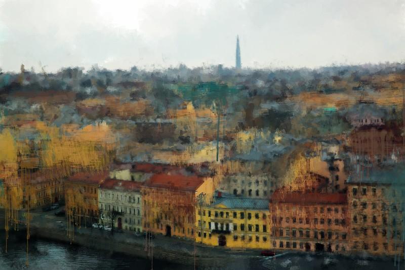 Весенний Петербург. Импрессионизм №2