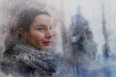 Времена_Петербургская осень. Акварельная графика для интерьеров