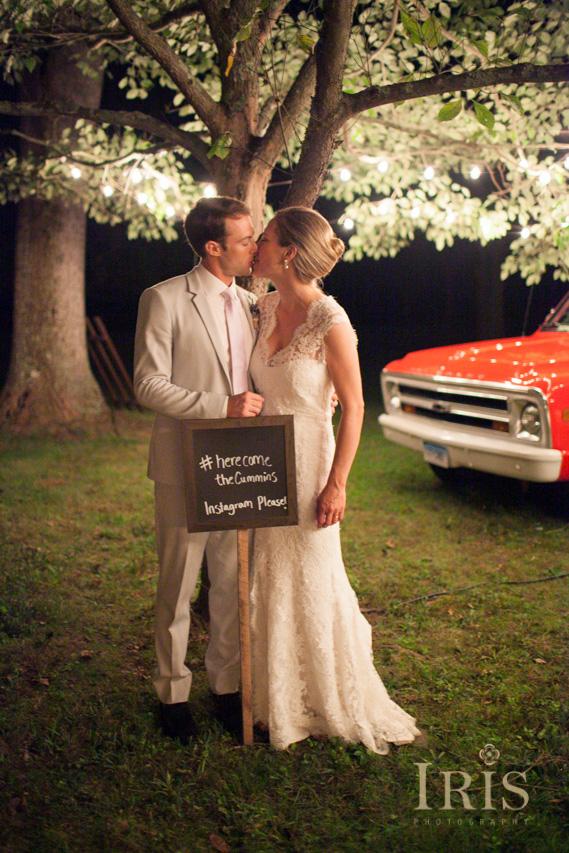 Old Lyme CT Backyard Tented Wedding Marina and James  IRIS Photography