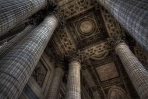 Columns and a roof (Paris 2011)
