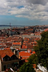 Red roofs of Lisboa