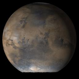 This MOC image shows the Acidalia/Mare Erythraeum face of Mars at Ls 66° in mid-June 2006