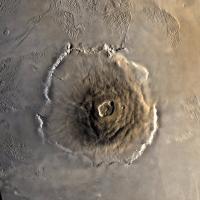 Olympus Mons - Volcano on Mars
