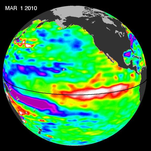 March 2010 El Nino