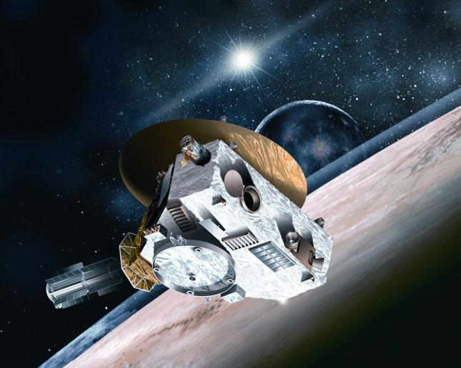 NASA Missions Have Their Eyes Peeled on Pluto (Artist's Concept)