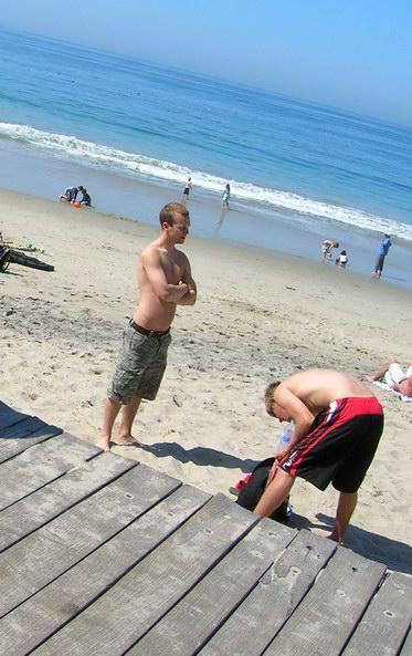 hotties on beach