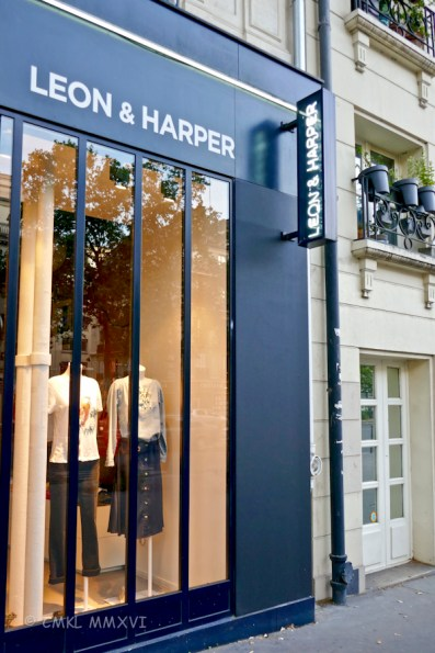 At 5 months of age, our granddaughter Harper already has her own clothing emporium ... not!
