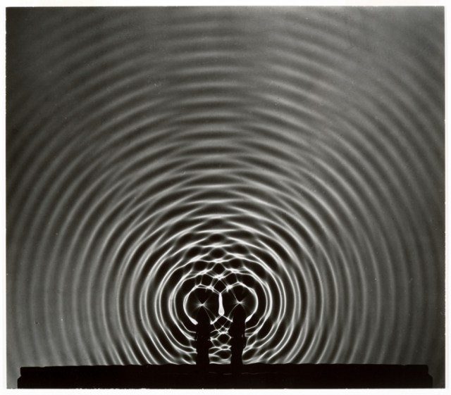Wave Interference Pattern - Photo by Berenice Abbott