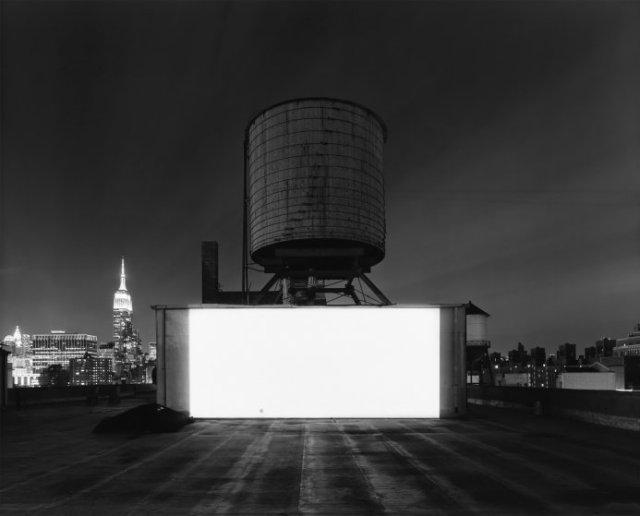 Hiroshi Sugimoto, Wolf Building Rooftop, New York, 2015