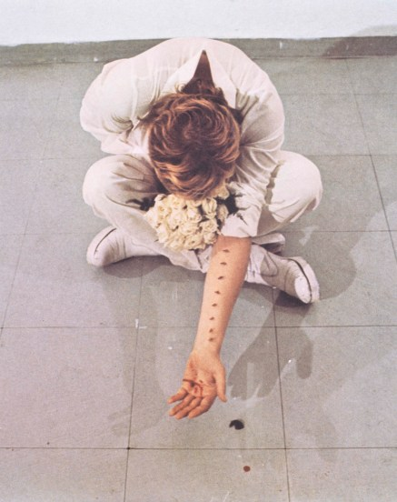 Gina Pane - Françoise Masson, Azione Sentimentale (1973)