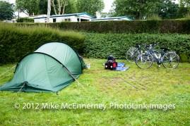 Campsite at Taden