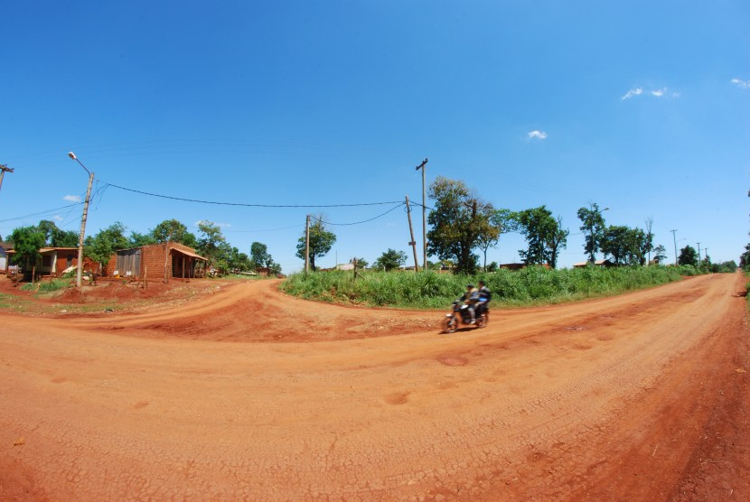 Argentina Red Dirt Road by Nathan Hetzler