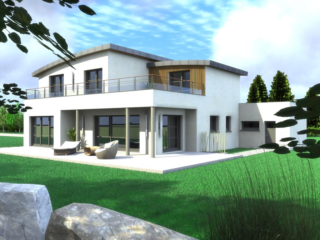 Best Maison Moderne Carre Gallery - House Design - mapetitesouris.info