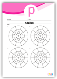 Addition Circle Drill