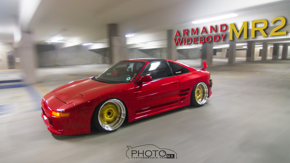 Armand // Widebody Toyota MR2 Feature