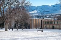 Texting, shorts, & snow at ISU