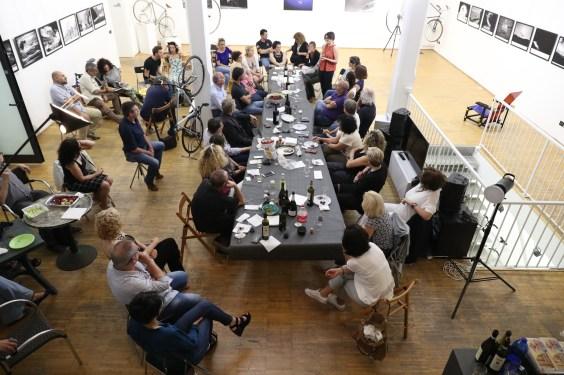photo milano 9 giugno 2017, primo incontro a Spazio Tadini