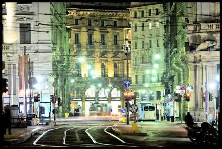 Cesare Augello 021, Milano by Night - Piazza Cordusio