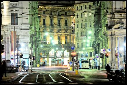 Cesare Augello 021, Milano by Night - Piazza Cordusio