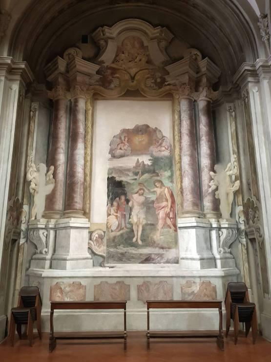 Corrado Formenti 007, Il Battesimo di Gesù di B. Filippo Luini