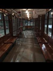 Cristina Grifone 003, In tram all'alba, solo io