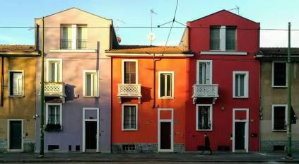 Daniela Loconte 009, Milano a colori, Via Beato Angelico