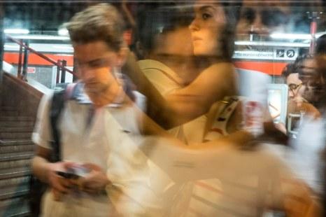 Elisabetta Merlo 001, metropolitana milanese