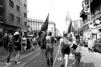 Elvira Pavesi 001, Gay Pride 2017 - A mani basse