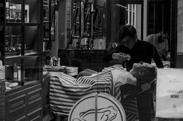 Fabio Natta 004, Barber Shop