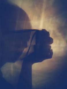 Francesca Giraudi 010, La Notte- La mia ombra in cucina