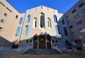 Luigi Alloni 012, Chiesa di San Francesco d'Assisi al Fopponino - Progetto Gio Ponti