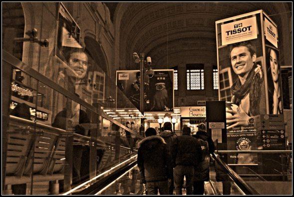 Luigi Lusenti 002, Milano Centrale