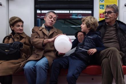 Marzio Toniolo 016, Metro rossa
