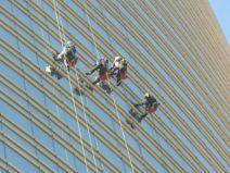 Mimma Livini 007, Grattacielo Unicredit - Lavavetri