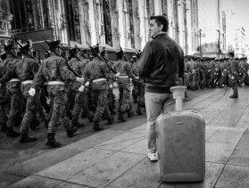 Enrico Nocito 002, Piazza Duomo - Parata militare giuramento cadetti
