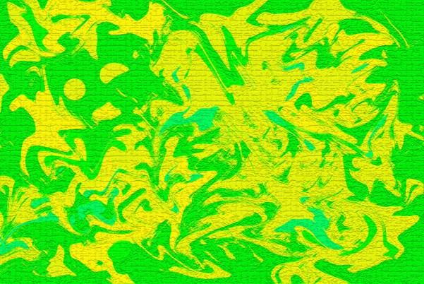 astrazione in verde 1